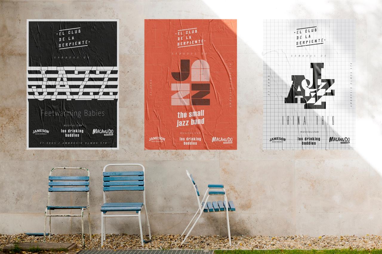 mockups urban posters